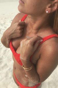 Dominika Cibulkova hot beach