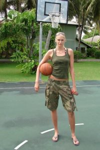 Maria Stepanova basket girl