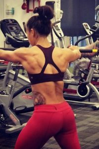 Michelle Waterson fitness
