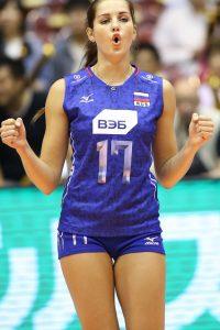 Natalia Malykh volleyball